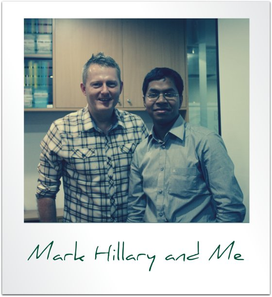 mark hillary and aminul islam sajib