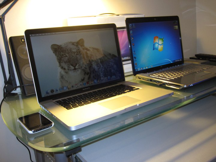 macbook pro vs windows 7 laptop