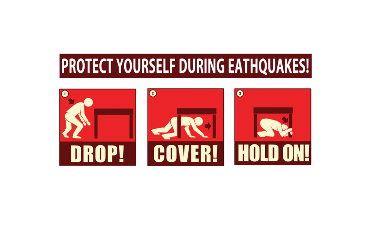 protact_yourself_during_earthquake_english