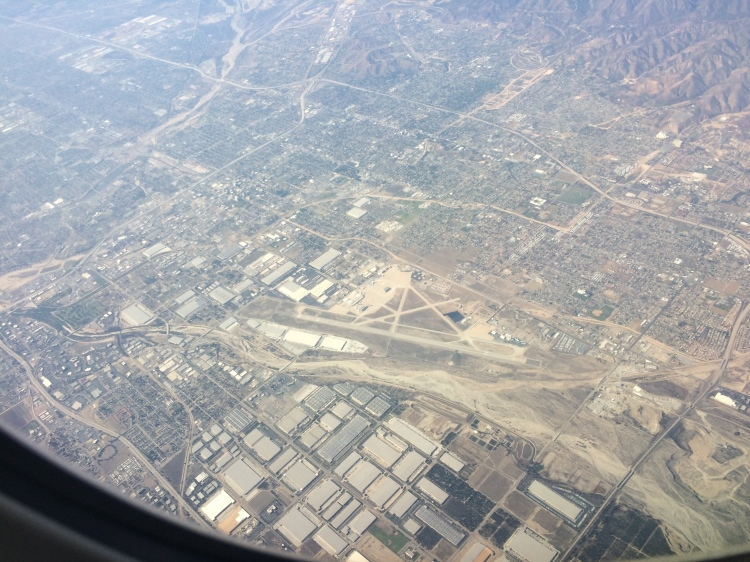 los angeles runway